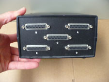 Black Box ABCDE switch, rear